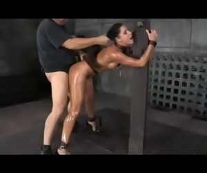 Creampie bondage studio with..